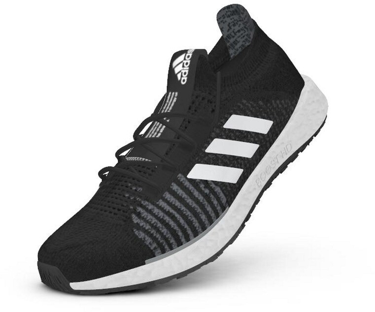 adidas Pulseboost HD Chaussures Femme, core blackfootwear whitegrey three